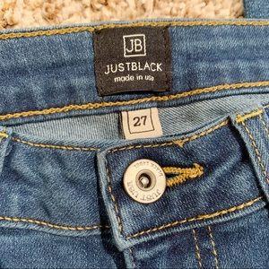 Just Black Jeans - Just Black Stitch Fix Distressed Skinny Jeans